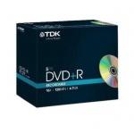 TDK PACK 5x DVD-Rohlinge 4.7 GB 120 Min. 16x DVD+R Rohling Leer-DVD Jewel-Case