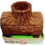 Tetra Baum-Haus essbar Höhle Futter Nager-Bau für Kaninchen Frettchen Chinchilla