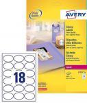 Avery Zweckform 450x Produkt-Etiketten hochglanz oval Produkt-Aufkleber Schilder