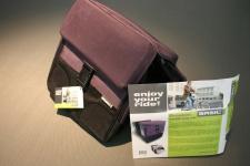 Basil Fahrradtasche Gepäckträger-Tasche Doppeltasche Touren-Tasche Satteltasche