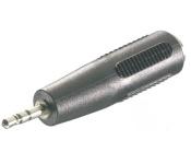 Vivanco Audio-Adapter 3, 5mm Buchse -> 2, 5mm Klinke Klinken-Stecker Stereo Buchse