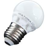 Patona LED Mini Birne E27 5, 5W / 45W 3000k LED-Lampe Ball Glühlampe Mini Globe