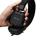 Marschall Major II Pitch Black On-Ear Headset Black Studio Kopfhörer Headphones