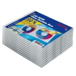 Hama 10x CD-Hüllen 2x CDs CD-ROM Slim Leer-Hülle DVD-Hüllen 10er Pack Jewel Case