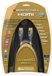 Monster HQ Gold 5m HDMI Kabel 2.0 18 Gbps Ethernet 3D ULTRA HD 4K UHD TV ARC