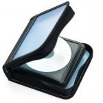 Ednet 32er CD DVD Blu-Ray Wallet Tasche Case Aufbewahrung Hülle Mappe Box Bag