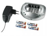 Hama Ultra Schnell-Ladegerät Delta 4S Netz-Lader 4 AA / AAA NiMH NiCd Akku Akkus
