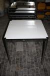 USM Haller Beistell-Tisch 75x75cm Schreibtisch weiß perlgrau Ablage 0, 75 Quadrat