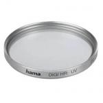 Hama UV-Filter 49mm Digital High Resolution UV vergütet silber Kamera Foto DSLR