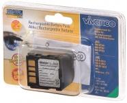 Vivanco LiIon Akku für JVC BN-VF714 BN-VF707 BN-VF733 BN-VF-714U 707U 733U GZ-MG