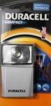 Duracell Flash Taschenlampe Compact Handlampe Leuchte für Zuhause Werkstatt etc.