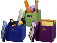 Hama Faltbare Universal Faltbox Kiste Aufbewahrungs-Box Korb Klapp-Box Würfel