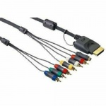 Hama Component-Kabel + S-Video-Kabel + Cinch-Kabel YUV RGB für HD TV XBOX 360