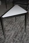 USM Haller Tisch Dreieck 1x0, 75m Beistelltisch perlgrau Verlängerung Eck-Lösung