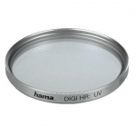 Hama UV-Filter 27mm Schutz-Filter UV Speer für Kamera Foto DSLR DSLM Camcorder
