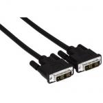 Hama Verbindungskabel DVI-D auf DVI-D Single Link 18 + 1 HDTV Übertragung 2m