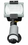 uniTEC 120 Watt Halogen-Strahler + Bewegungsmelder Halogen-Fluter Außenstrahler