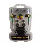 Skullcandy Kopfhörer Smokin Buds Rasta S2SBCY Ohrhörer 1, 3m Kabel 3, 5mm Klinke