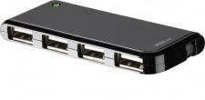 Speedlink NOBILE Kompakt USB Hub 2.0 4-Port Verteiler Extender Splitter 4-Fach