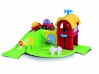PlayBIG FLIZZIES Bauernhof by BIG Bobbycar Auto Rennbahn Spielzeug Traktor Stroh