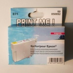 Hama Druckerpatrone Print Cartridge Print Me E71 Magenta Rot für Epson D78