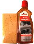 Bundle: Nigrin Auto-Shampoo Konzentrat 1L+ Schwamm Kfz Reiniger Reinigung Pflege