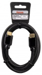 Hama High-Speed HDMI-Kabel 1, 5m GOLD Anschluss-Kabel 3D HD-TV Full-HD LED LCD TV