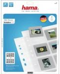 Hama Dia-Hüllen 25 Blatt 500 Dias Dia Format 5x5cm PP Folie Aufbewahrung Tasche