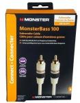 Monster High-End 5m Subwoofer-Kabel Cinch-Kabel 1-1 RCA-Stecker Verstärker Sub