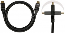 Brooklyn HQ HDMI-Kabel Flex-Kabel Full HD 1080p 1.3b Stecker 90°-180° für PS3 ..