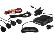 Wireless Einparkhilfe Display+Ton 4 Sensor Parktronic Funk Park-Abstandssensor