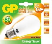 GP Energiespar-Lampe E27 11W / 47W Birne Warmweiß Lampe Glüh-Birne Leuchtmittel