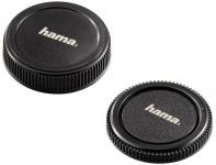 Hama Gehäuse-Deckel + Objektiv-Deckel Micro Four-Thirds 4/3 M4/3 MFT Kamera DSLR