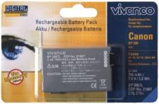 Vivanco Akku für Canon BP-208 BP-208DG DC10 DC20 DC22 DC40 DC100 MVX450 MVX460