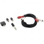 Thomson Klinken-Set 2, 5m Cinch-Kabel Klinken-Adapter 3, 5mm Cinch-Buchse etc.