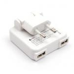Macally Dual USB Ladegerät 2-Port 10W Netz-Lader Netzteil für iPad Air 1 2 Pro