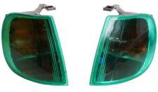 Hella Blinker grün Frontblinker Links + Rechts für VW Polo III 3 6N 10/94 - 8/99