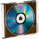 VIVANCO CD DVD LEERHÜLLE Jewel Slim Case 10er Pack