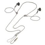 Hama Strap-In-Ear-Stereo-Kopfhörer ME-473 Alu 3, 5mm Klinke für Handy MP3-Player