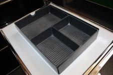 USM Haller Schubladeneinsatz Material-Ablage Einsatz für Roll-Container Auszug