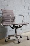 Vitra Charles Eames Schreibtisch-Stuhl Chair EA-117 Aluminium Bürostuhl grau