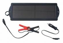 Cartrend Solar-Panel Erhaltungs-Ladegerät Lader 1, 5W für 12V Akku Auto-Batterie