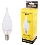Patona LED-Lampe Windstoß-Kerze E14 5W = 40W 3000K Flamme Glüh-Lampe Glüh-Kerze