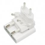 Macally Dual USB Netz-Ladegerät 2-Port Lader Netzteil für iPhone 5S 5 5C 4S iPod