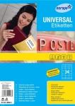 Avery Zweckform 240x Universal Etiketten weiß A4 70x36 Adress-Aufkleber Drucker