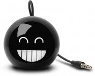 Cellux tragbarer Lautsprecher Bomb 3, 5mm Klinke für Handy MP3 Player Schwarz