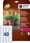 Avery 320x Produkt-Etiketten wetterfest Aufkleber Preis-Schilder Preis-Etiketten