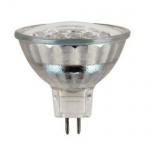 Xavax LED-Lampe 12V 1, 5W Sockel MR16 G5, 3 50.000 Std weiss Leuchtmittel Leuchte