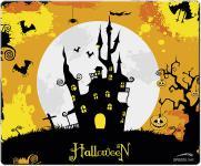 Speedlink Silk Mousepad Mauspad dünn Motiv Halloween Castle Burg Mouse Maus Pad