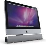"XtremeMac Tango Sound-Bar USB Lautsprecher für Apple iMAC 21, 5"" oder PC Monitor"